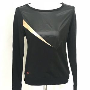 Splits59 crew neck Rose gold and black Long sleeve